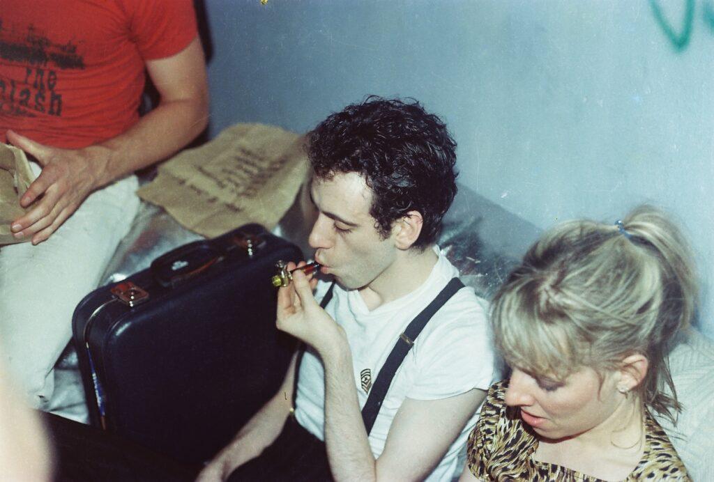 Mick Jones i Ellen Foley
